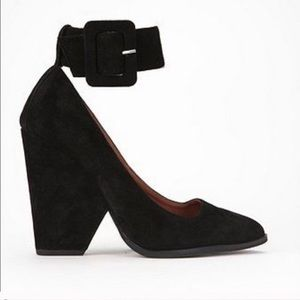 Jeffery Campbell suede heels